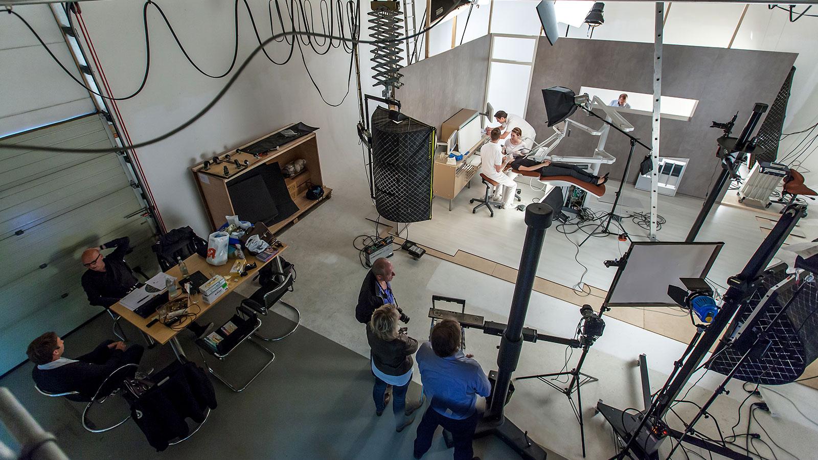 komplexe Aufbauten im Studio