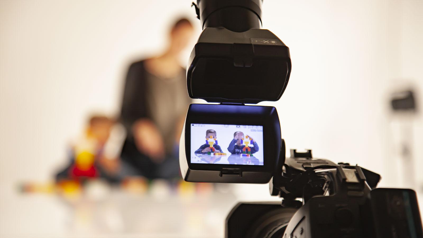 Video Set-Up im Studio